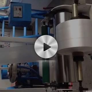 高速背心袋吹膜机视频